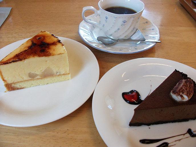 カフェサーシャ_ケーキ