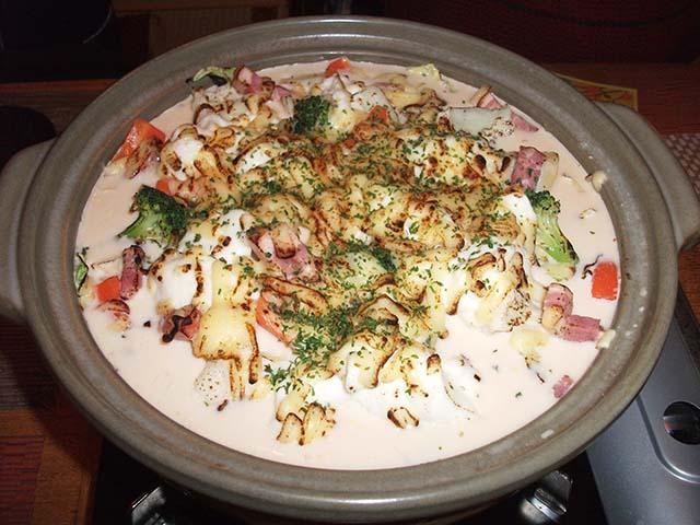グラタン鍋の写真