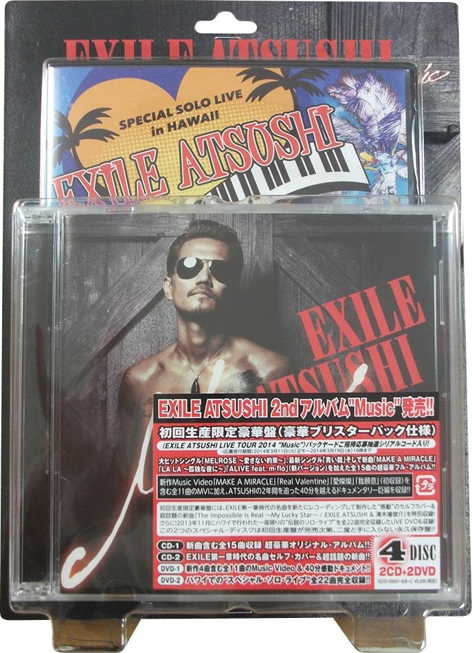 EXILE ATSUSHI アルバム「Music」